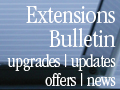 Extensions Bulletin provides news and information on extension software.